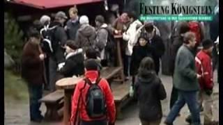 preview picture of video 'Historisch-romantischer Weihnachtsmarkt auf der Festung Königstein'