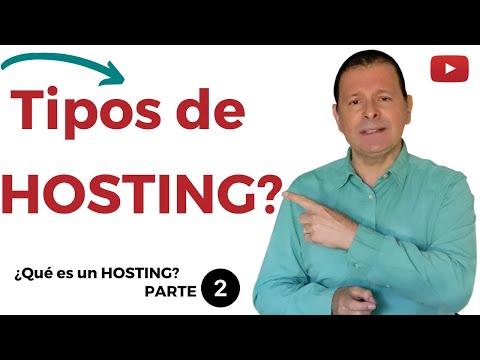 ¿Cuántos tipos de hosting hay? ¿Qué Alojamiento Web necesitas en 2020? ¡TODO en 7 minutos!
