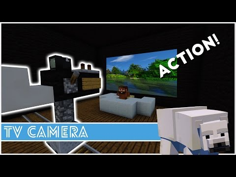 how to make a tv in minecraft. Minecraft - How To Make A Tv Camera In E