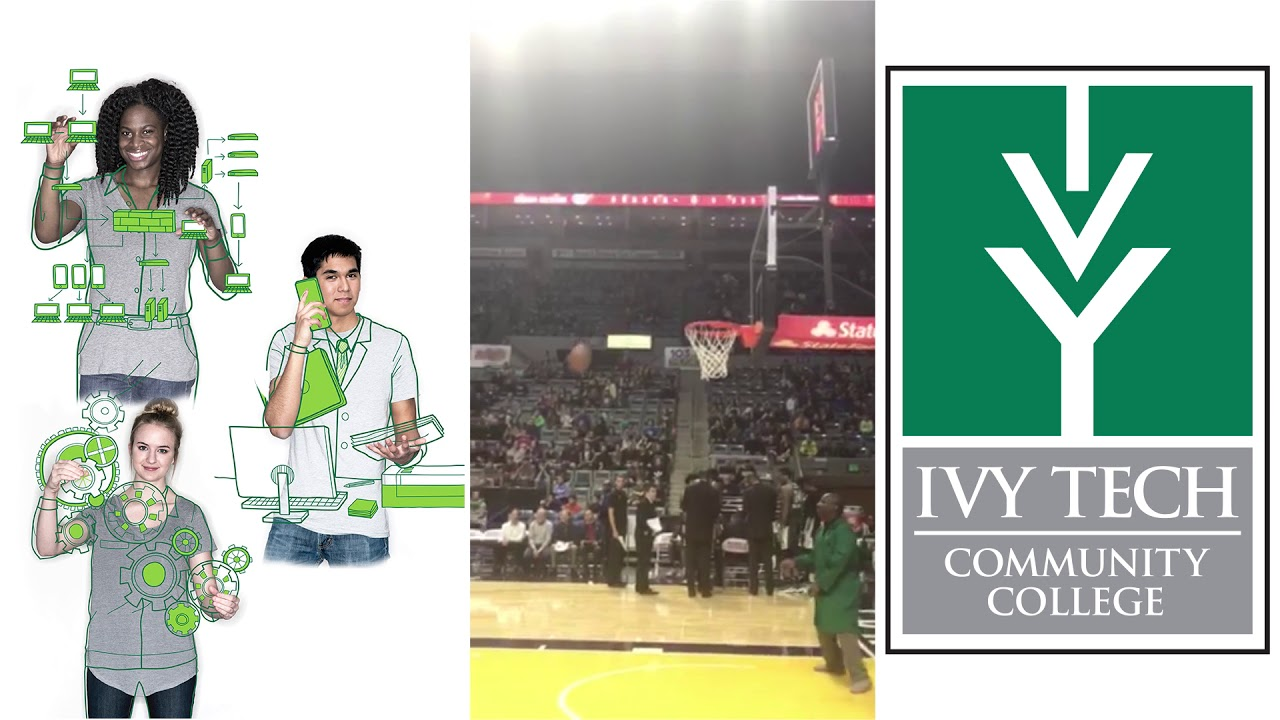 Ivy Tech Unveils Basketball Playing Robot At Mad Ants Game