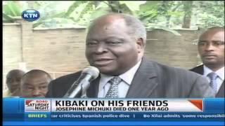 Kibaki Attends The Late John Michuki's Wife Memorial