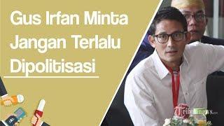 Langkahi Makam Pendiri NU, Warga Jombang Desak Sandiaga Minta Maaf, Gus Irfan: Terlalu Dipolitisasi
