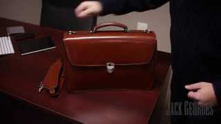Product Overview: Elements Triple Gusset Flap Over Briefcase (4403)