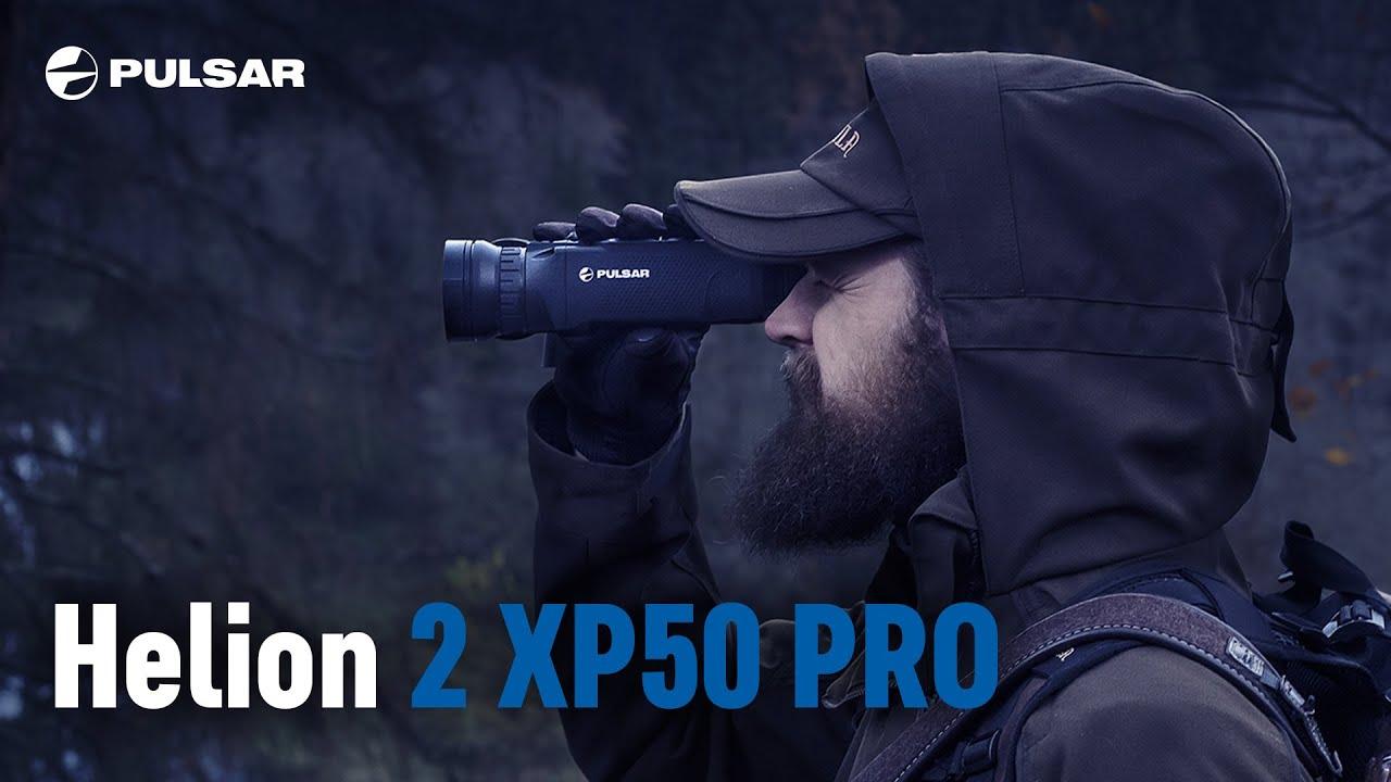 Видео о товаре Тепловизор Pulsar Helion 2 XP50 Pro