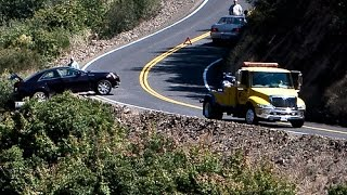 Warning - Do not take this road to Yosemite National Park w/ RV, Winnebago View, GPS, danger