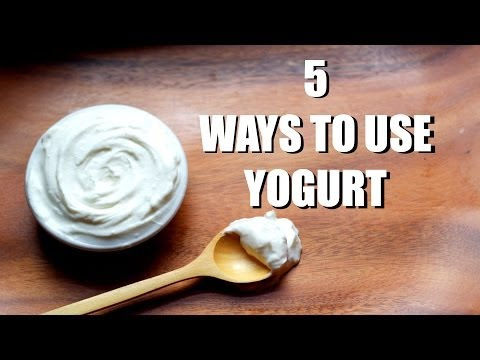 Video 5 Ways to Use Yogurt | Tasty Tip