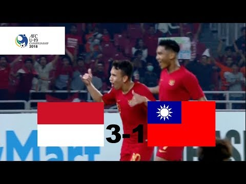 Indonesia U-19 vs Chinese Taipei U-19