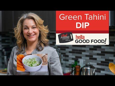 Green Tahini Dip