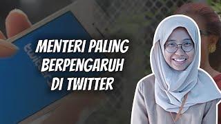 WOW TODAY: 10 Menteri Paling Berpengaruh di Twitter Menurut Hasil Riset Indonesia Indicator (I2)