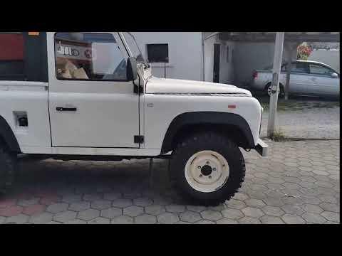 video Land Rover Defender 4 sitzer, Servo, Kugel & Maulkupplung