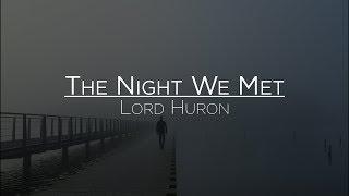 Lord Huron   The Night We Met (Letra En Español)