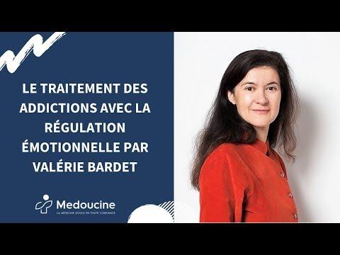 Le traitement des addictions avec la régulation émotionnelle par Valérie Bardet