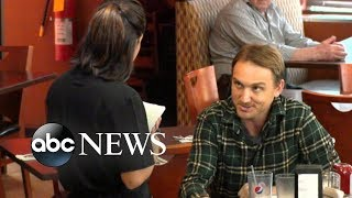 Male patron harasses his waitress at a diner | What Would You Do? | WWYD