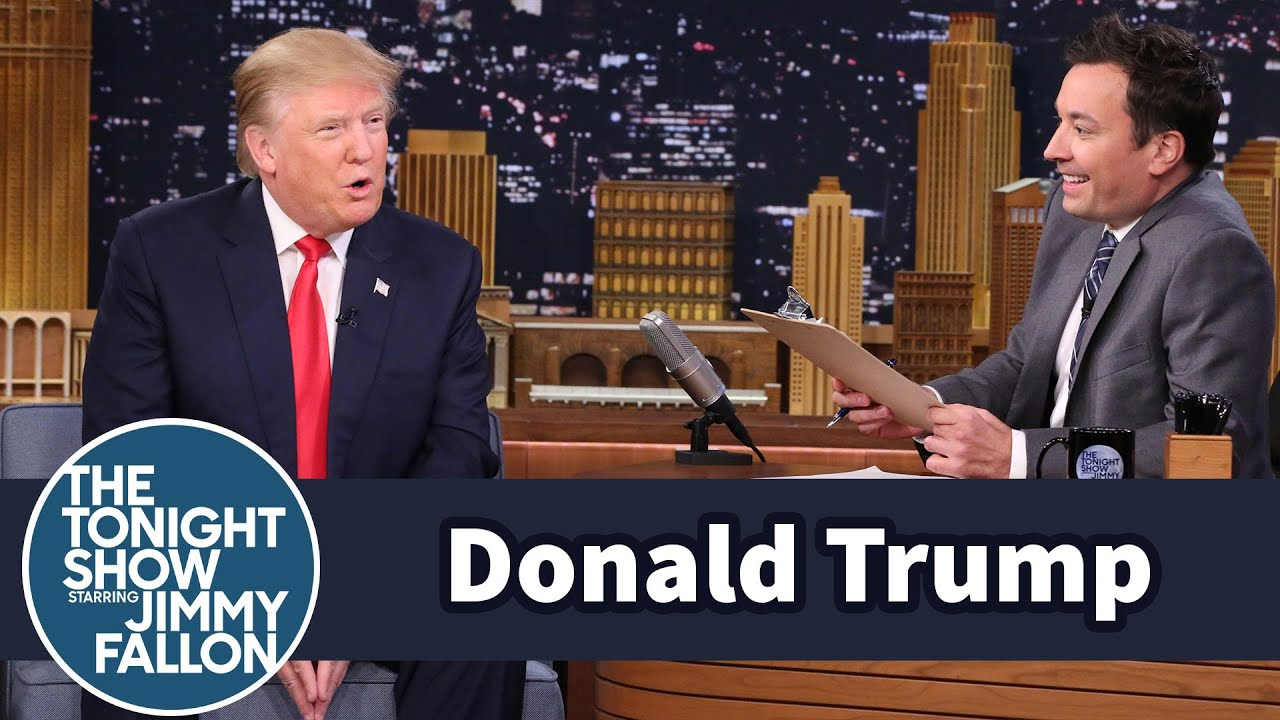 Mock Job Interview for President with Donald Trump thumbnail