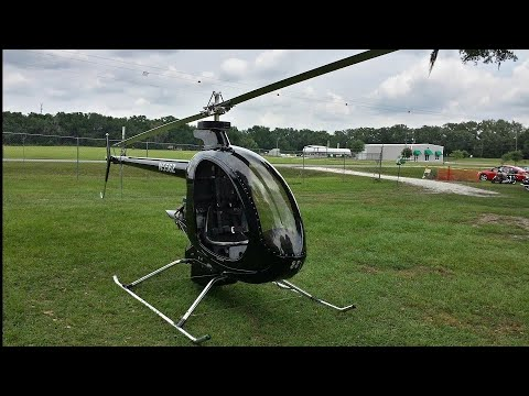 Mosquito XET Turbine Helicopter Walkaround and Flight