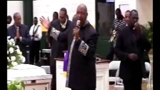Pastor Brown Sermon Annie Hines Funeral.avi
