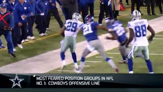 Top 10 scariest position groups: Cowboys' offensive line