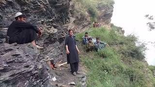 preview picture of video 'From Neher Bala a beautiful scene of GHS Neher & Gantar valley'