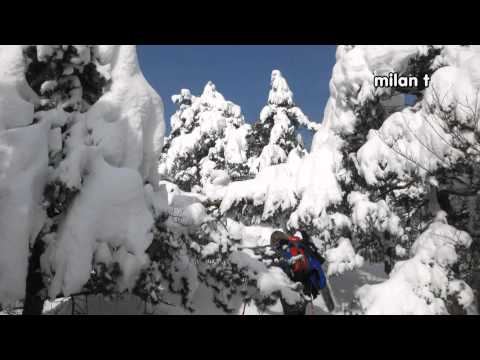 Gonte v snegu