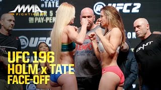 UFC 196 Weigh-Ins: Holly Holm vs. Miesha Tate - Video Youtube