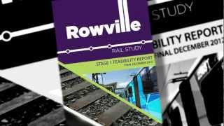 Rowville Rail Study Stage 1 Final Report Animation
