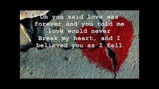 My Sweet Song- Toby Lightman With Lyrics