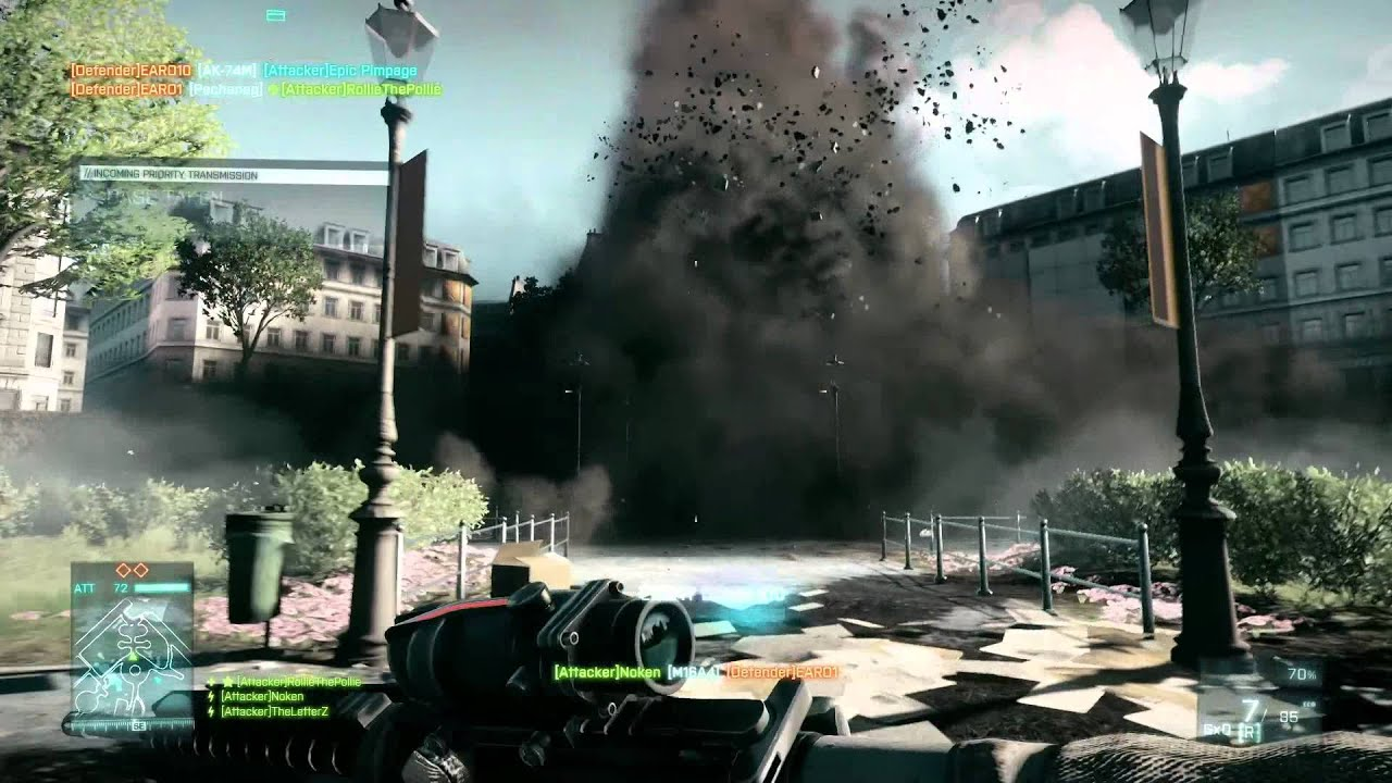 Watch 57 Seconds Of Battlefield 3 Blowin' Shit Up
