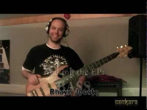Sankara EP recording - Behind the scenes - Rhayn Jooste on Bass
