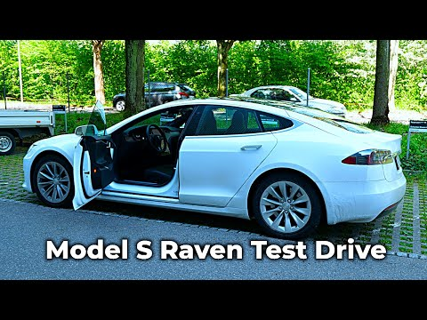Tesla Model S Raven P100D Performance Test Drive 2020