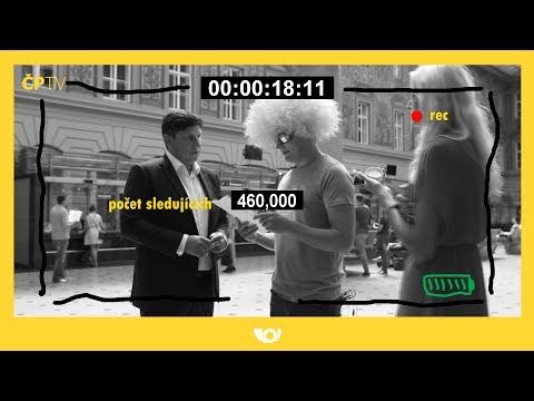 Šílené video České pošty v televizi: Trhni si nohou, koloběžkáři, řekl nejvyšší