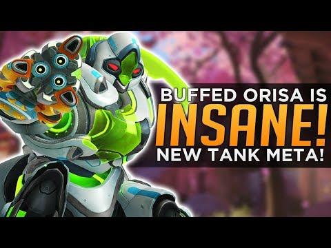 Overwatch: Buffed Orisa is INSANE! - New Tank META!