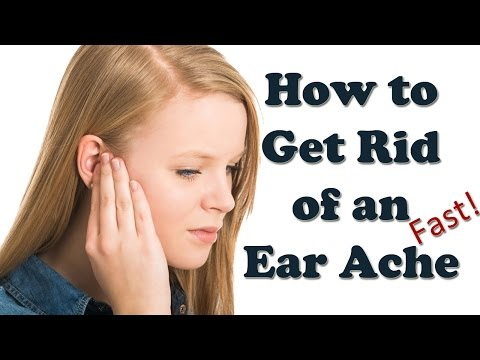 Video Earache Relief - How to Cure Ear Ache Fast - Ear Infection Symptoms and Treatment