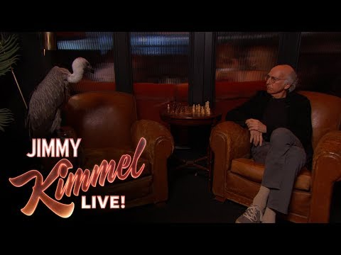 Larry David Plays Chess with a Vulture