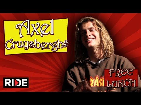 Axel Cruysberghs Talks Toy Machine, Lizzie Armanto & More - Free Lunch