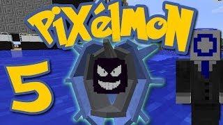 Cloyster  - (Pokémon) - Pixelmon Ep. 5 - SHINY CLOYSTER! (Minecraft Pokemon Mod)