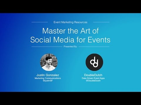 Master the Art of Social Media for Events