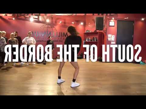 South of The Border mirrored Kyle Hanagami Choreography