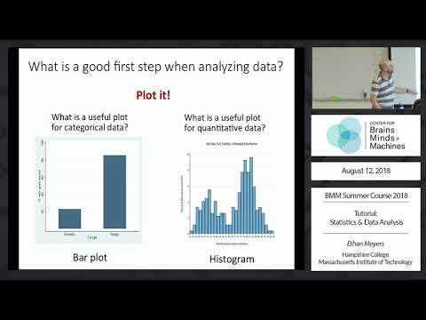 Tutorial: Statistics and Data Analysis - YouTube