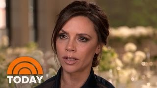 Victoria Beckham On New Clothing Line, Family And A Spice Girls Reunion | TODAY - Video Youtube