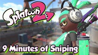 Splatoon 2 - 9 minutes of Crazy Sniping! (SplatterScope Gameplay)