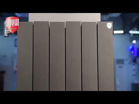 Радиатор Royal Thermo PianoForte 500 Noir Sable - 10 секц Video #1