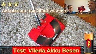 Test: Vileda Akku Besen 2 in 1 Akkubesen und Staubwischer