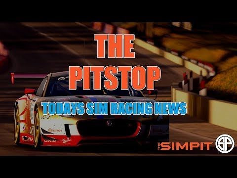 The Pitstop with Shaun Cole - Today's Sim Racing News (видео)