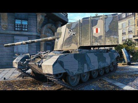 FV4005 Stage II - NERFED? NO PROBLEM - World of Tanks Gameplay