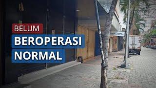 Kebijakan PSBB Masih Berlaku, Sebagian Besar Toko di Pasar Baru Masih Tutup