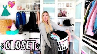 Cleaning Out My Closet!! AlishaMarieVlogs