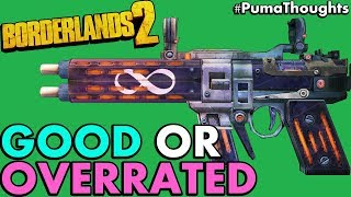 Is the Infinity Pistol Good, Overrated or Both? (Borderlands 2 Infinity Gameplay) #PumaThoughts