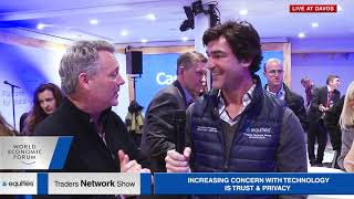 David Fergusson, Co author of TransHuman Code Interview at WEF19 Traders Network Show Equities com