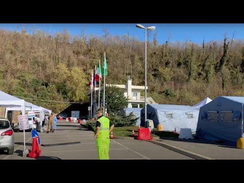 Protezione civile in prima linea alle Fontanelle: a trovarli arriva l'Assessore