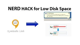How to Create Symbolic Links in Windows 8, 7, Vista for Extra Space